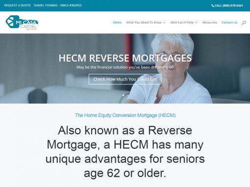 About Reverse Mortgages
