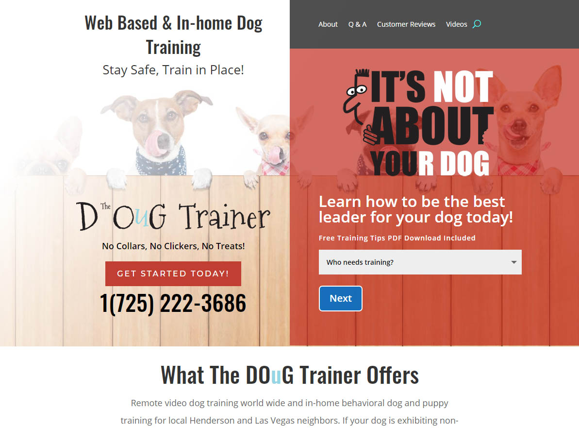 visit dougtrainer.com