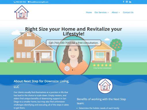 Next Step to Downsize Living – San Diego, Ca.