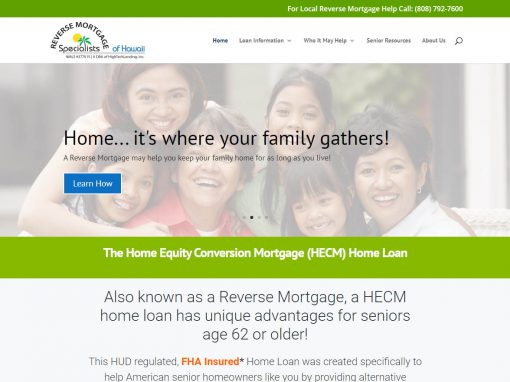 Reverse Mortgage Specialists Hawaii