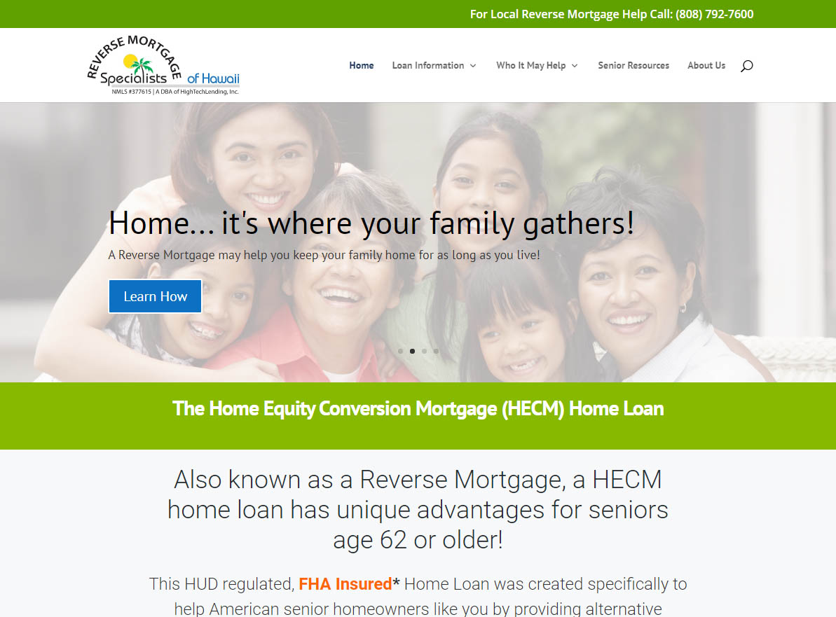 Visit Reverse Mortgage Specialists Hawaii